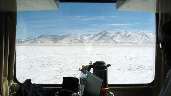 Linia kolejowa Qinghai-Tybet - Sputnik Polska
