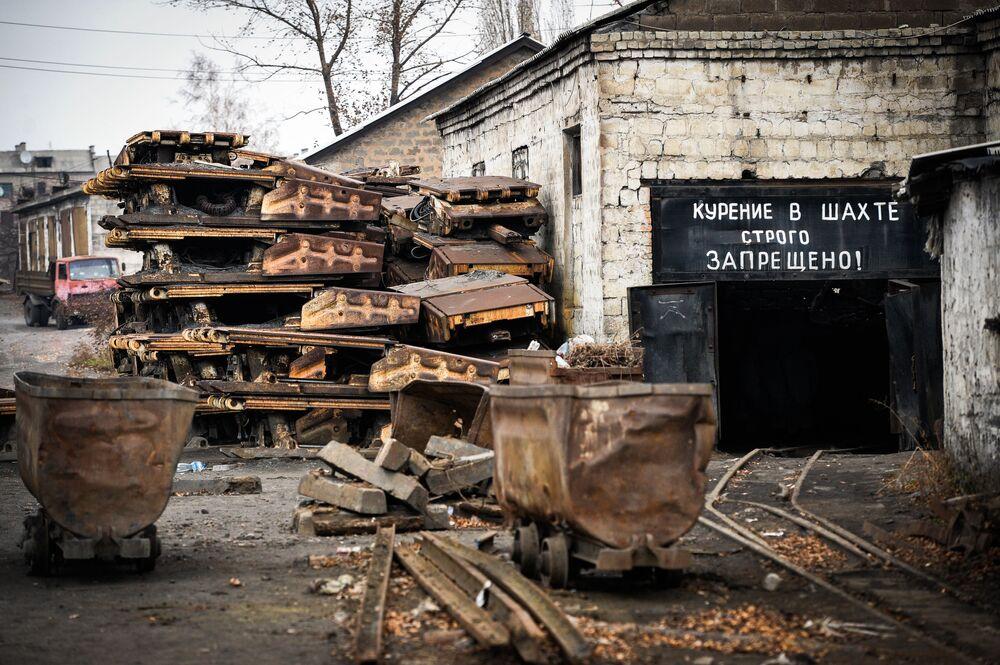 Kopalnia Iłłowajskaja w obwodzie donieckim