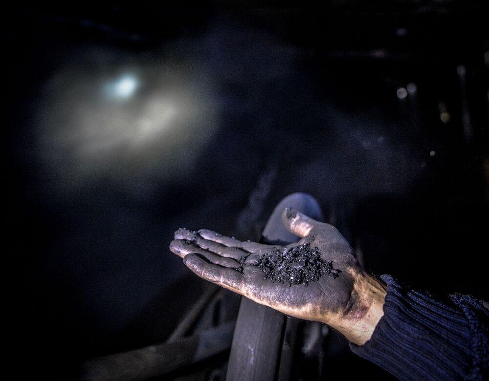 Kopalnia Głubokaja w Szachtarśku w obwodzie donieckim