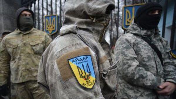 Członkowie batalionu Ajdar - Sputnik Polska