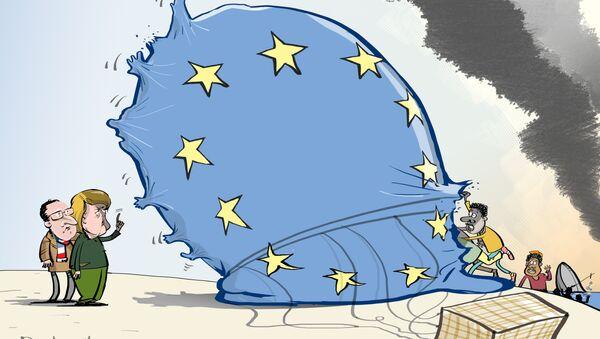 Migranci w UE - Sputnik Polska
