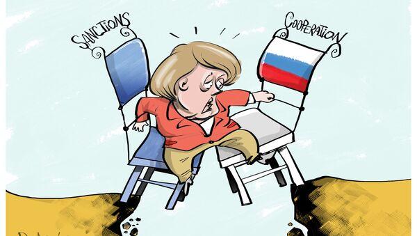 UE nie może znieść sankcji, ale chce partnerskich relacji z Moskwą - Sputnik Polska