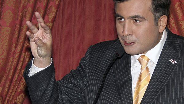 Prezydent Gruzji Micheil Saakaszwili. Zdjęcie archiwalne - Sputnik Polska