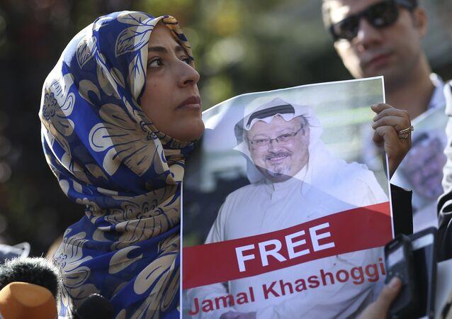 Zaginiony dziennikarz Jamal Khashoggi