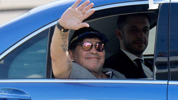 Diego Armando Maradona - Sputnik Polska