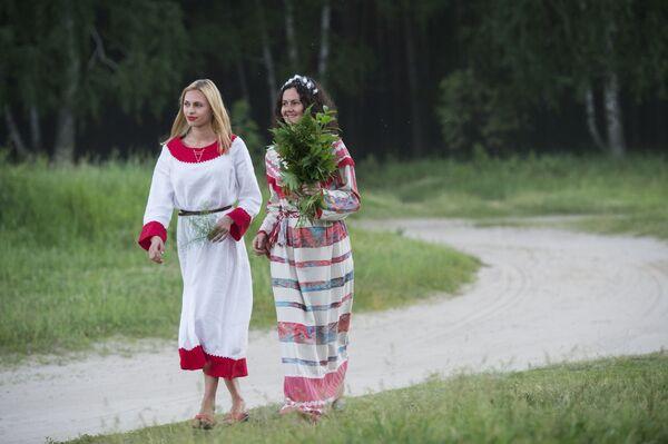 Święto Przesilenia Letniego pod Omskiem - Sputnik Polska