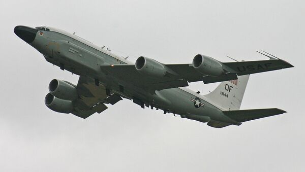 Amerykański samolot zwiadowczy RC-135V - Sputnik Polska