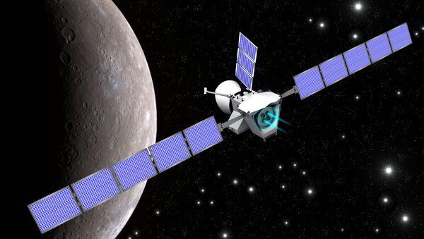 Grafika: BepiColombo przy Merkurym - Sputnik Polska