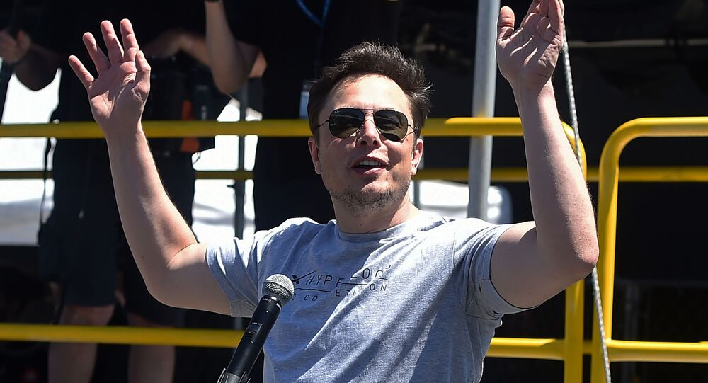 Przedsiębiorca Elon Musk