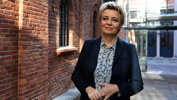 Prezydent Łodzi Hanna Zdanowska - Sputnik Polska