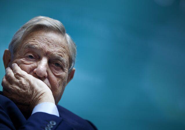 Amerykański miliarder George Soros