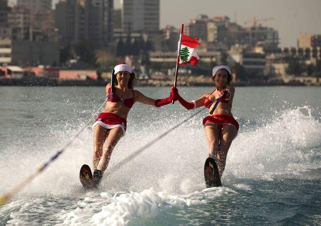 Śnieżynki w Bejrucie