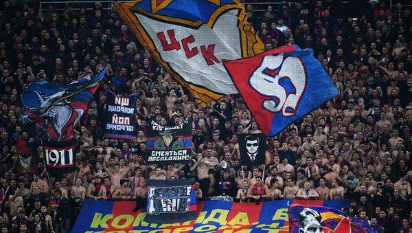 Kibice klubu CSKA - Sputnik Polska