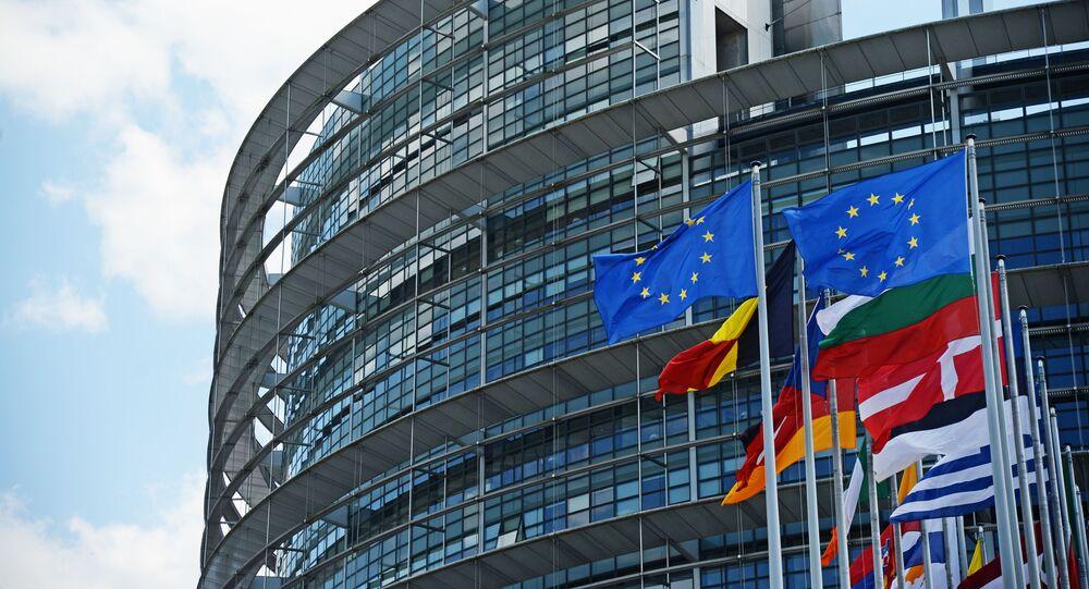 Budynek Parlamentu Europejskiego w Strasburgu