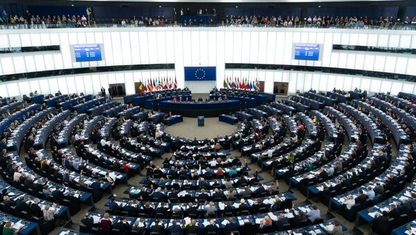 Głosowanie deputowanych Parlamentu Europejskiego - Sputnik Polska