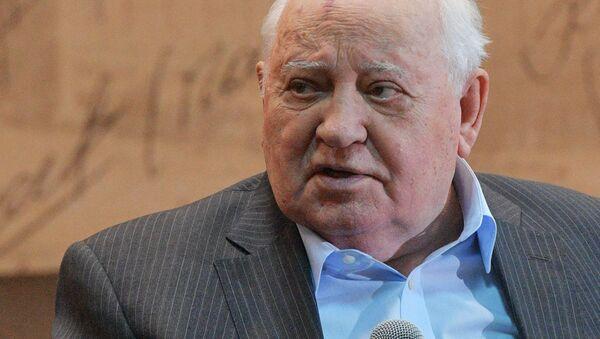 Były prezydent ZSRR Michaił Gorbaczow - Sputnik Polska