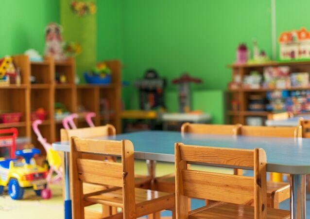 Przedszkole. Zdjęcie archiwalne