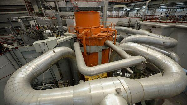 Centralna sala 4. bloku energetycznego z reaktorem BN-800 w elektrowni atomowej w Biełojarsku - Sputnik Polska