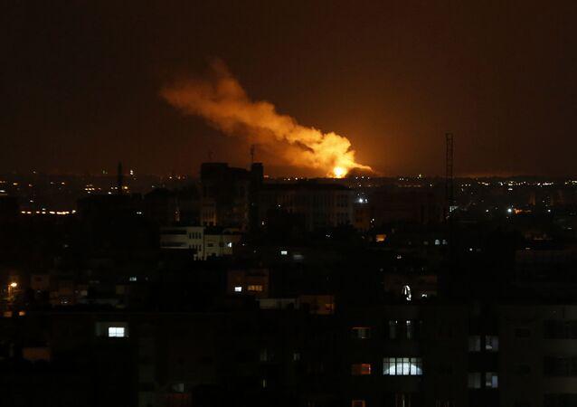 Izraelskie ataki na Strefę Gazy