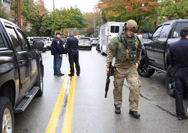 Strzelanina w synagodze w Pittsburghu