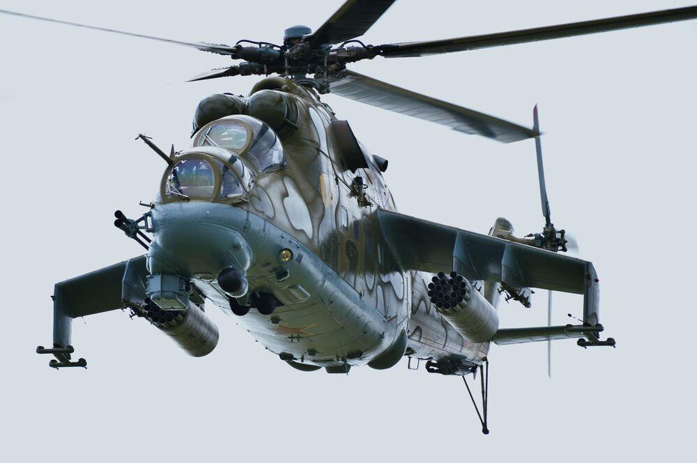 Mi-24 – ciężki śmigłowiec bojowy opracowany w Związku Radzieckim
