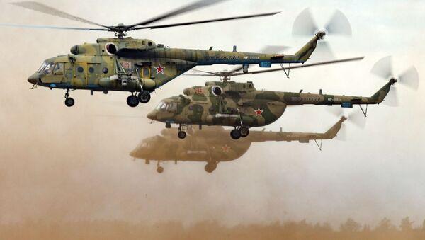 Mi-8 – radziecki śmigłowiec wielozadaniowy  - Sputnik Polska