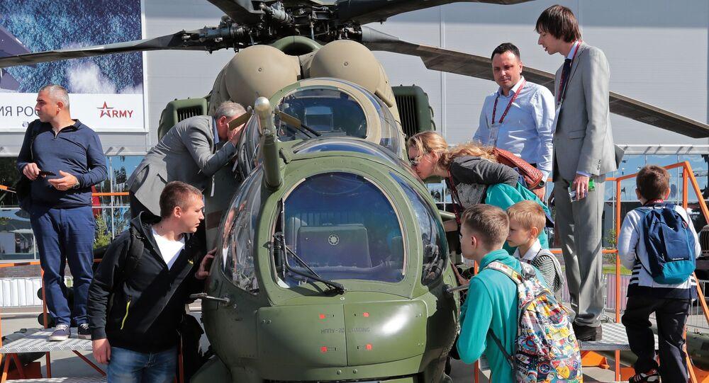 Mi-35M – rosyjska głęboka modernizacja śmigłowców Mi-24W opracowana na przełomie XX i XXI wieku
