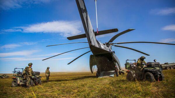 Mi-26 – ciężki śmigłowiec transportowy produkcji ZSRR - Sputnik Polska
