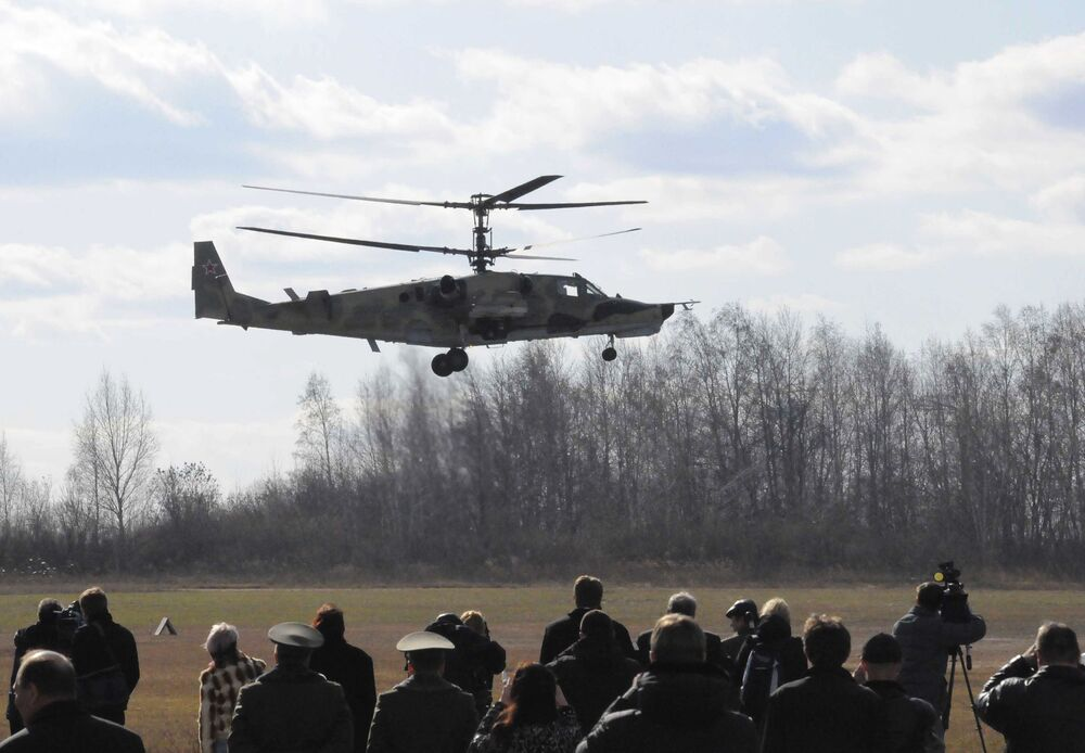 Ka-50 – jednomiejscowy śmigłowiec wojskowy produkcji rosyjskiej, zaprojektowany jako szturmowy