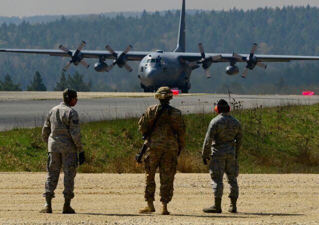 Amerykańska Baza Sił Powietrznych Ramstein w Niemczech
