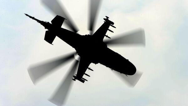 Śmigłowiec wojskowy Ka-52 - Sputnik Polska