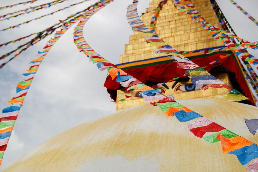 Buddyjska świątynia w Katmandu, Nepal