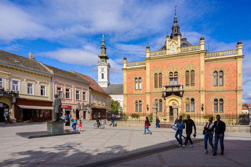 Nowy Sad – północna Serbia