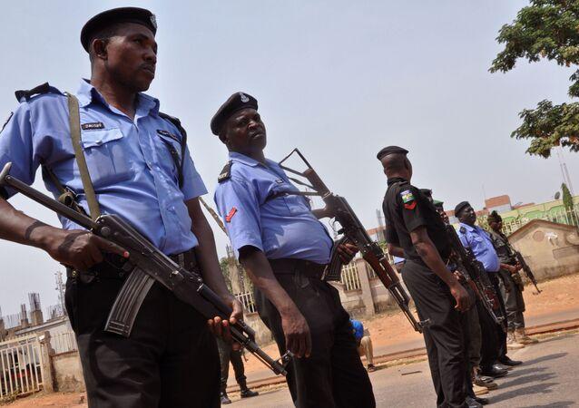 Nigeryjska policja