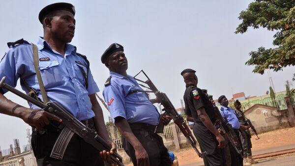 Nigeryjska policja - Sputnik Polska