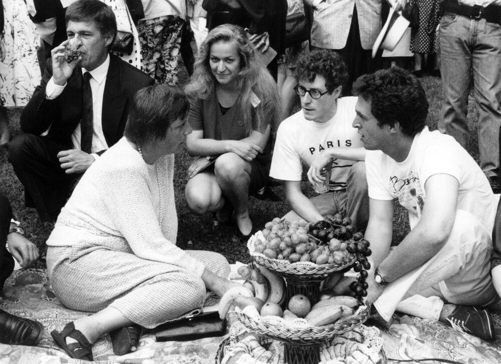 Minister do spraw kobiet i młodzieży Angela Merkel w 1992 roku.