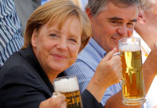 Angela Merkel, 2009 rok. - Sputnik Polska