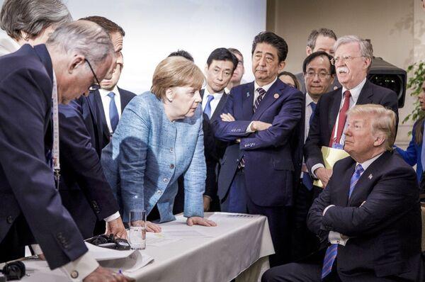 Szczyt G-7 w Kanadzie - Sputnik Polska