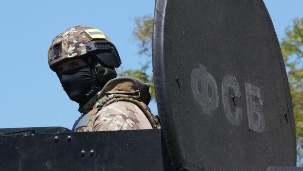Szkolenia FSB na Krymie - Sputnik Polska
