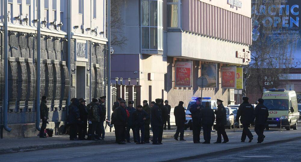 Wybuch przy siedzibie FSB w Archangielsku