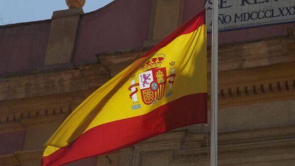 Flaga Hiszpanii - Sputnik Polska