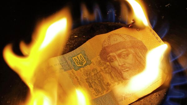 Hrywna - oficjalna waluta Ukrainy - Sputnik Polska