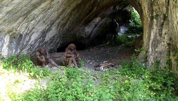 Jaskinia Ciemna w Ojcowskim Parku Narodowym - Sputnik Polska