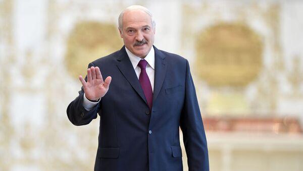Prezydent Białorusi Alaksandr Łukaszenka. Zdjęcie archiwalne - Sputnik Polska