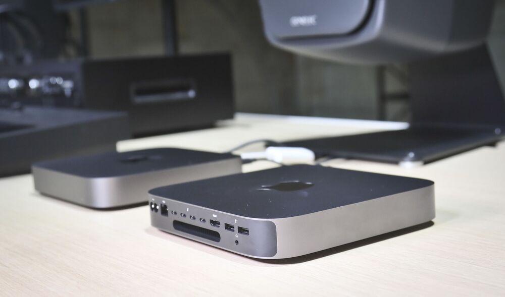 Prezentacja nowego Mac Mini w Nowym Jorku