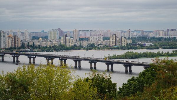 Widok na Kijów, Ukraina  - Sputnik Polska