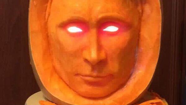Dynia w kształcie Putina - Sputnik Polska