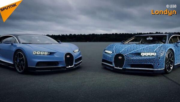 Bugatti z klocków LEGO - Sputnik Polska