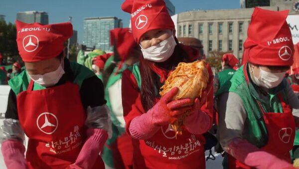 Festiwal kimchi - Sputnik Polska