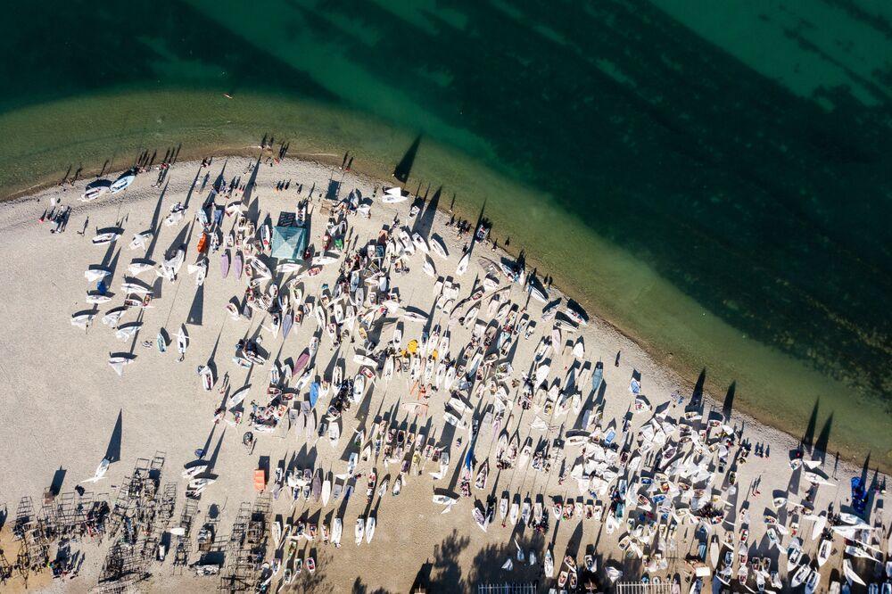 Zatoka Gelendżycka. Listopad 2018 r.